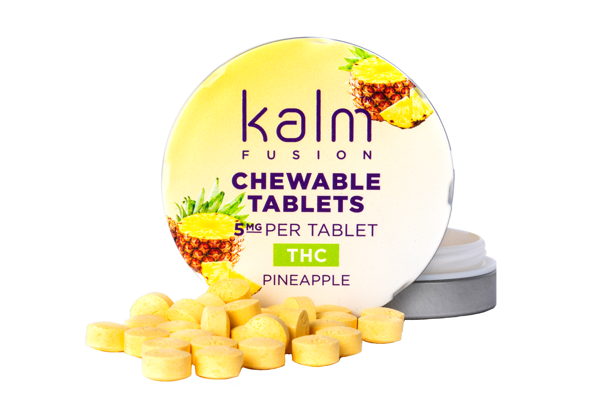 Kalm Mints THC Pineapple