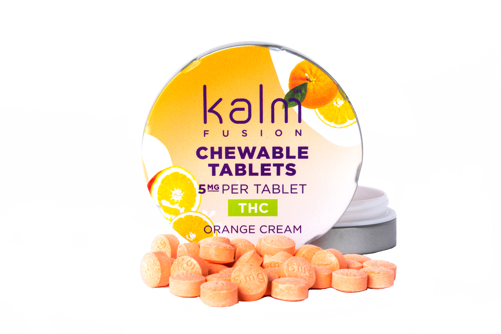 Kalm Mints THC Orange Cream